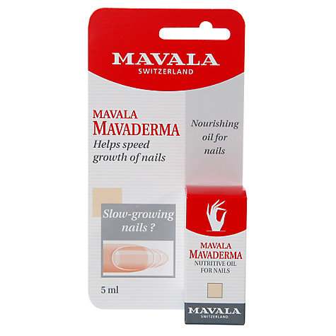 Buy MAVALA Mavaderma Nutritive Oil for Nails, 5ml Online at johnlewis.com