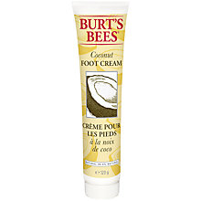 Buy Burt's Bees Coconut Foot Creme, 123g Online at johnlewis.com