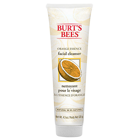 Buy Burt's Bees Orange Essence Facial Cleanser, 125g Online at johnlewis.com