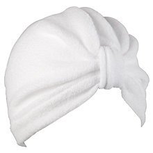 Buy John Lewis Towelling Turban Online at johnlewis.com