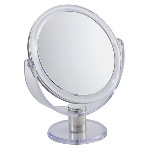 Buy John Lewis Acrylic D-Stand Mirror Online at johnlewis.com
