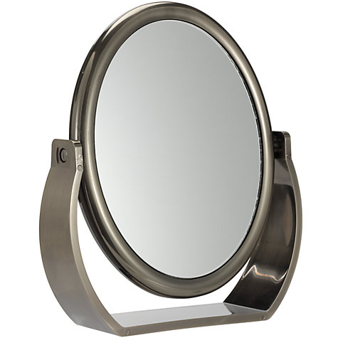 Buy John Lewis 7 x Magnification Plastic Oval Mirror Online at johnlewis.com