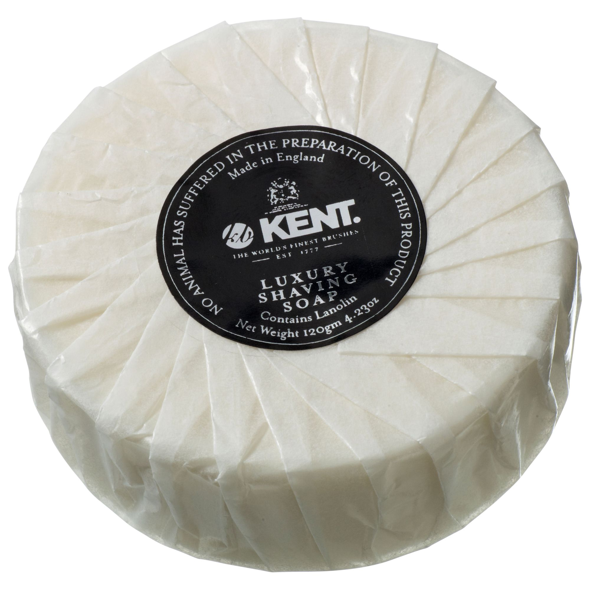 Kent Kent Luxury Shaving Soap Refill, 125g