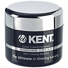 Buy Kent SCT2 Men's Shaving Cream Tub, 125ml Online at johnlewis.com