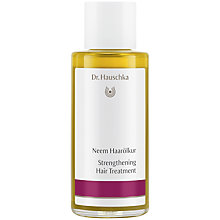 Buy Dr Hauschka Neem Hair Oil, 100ml Online at johnlewis.com