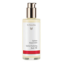 Buy Dr Hauschka Quince Hydrating Body Milk, 145ml Online at johnlewis.com