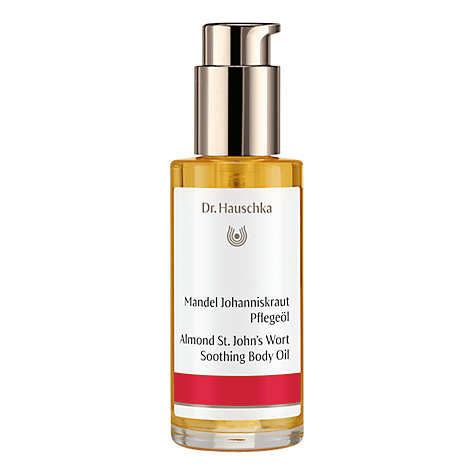 Buy Dr Hauschka Almond St. John's Wort Body Oil, 75ml Online at johnlewis.com