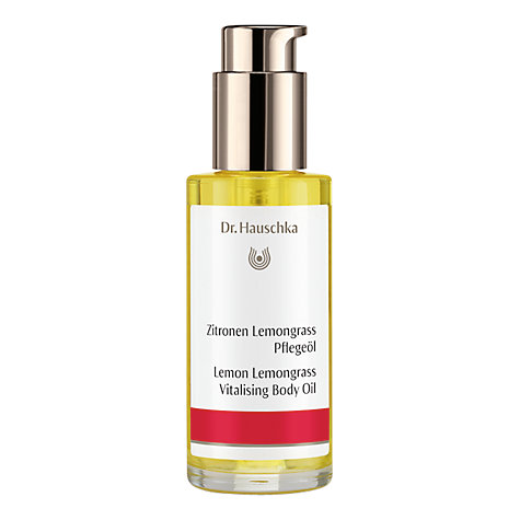 Buy Dr Hauschka Lemon Lemongrass Body Oil, 75ml Online at johnlewis.com