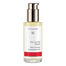 Buy Dr Hauschka Moor Lavender Body Oil, 75ml Online at johnlewis.com