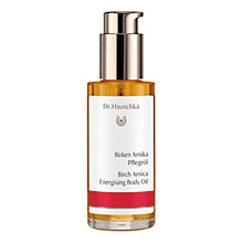 Buy Dr Hauschka Birch Arnica Body Oil, 75ml Online at johnlewis.com