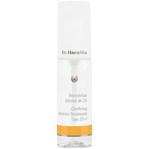 Buy Dr Hauschka Clarifying Intensive Treatment for 25+ 02, 40ml Online at johnlewis.com