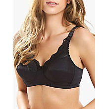 Buy Royce Jasmine 423P Soft Post Surgery Bra, Black Online at johnlewis.com