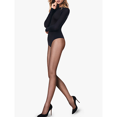 Buy Wolford Twenties Micro Net Tights Online at johnlewis.com