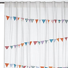 Buy John Lewis Bunting Voile Panel, Multi Online at johnlewis.com
