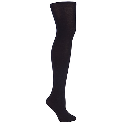 Buy John Lewis Women 100 Denier Premium Cotton Tights Online at johnlewis.com