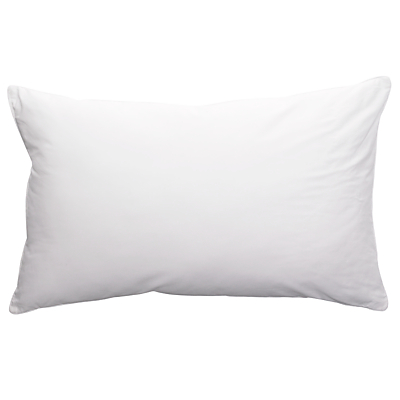 John Lewis Breathable Microfibre Standard Pillow, Medium/Firm