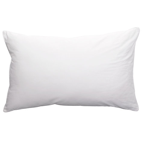 Buy John Lewis New Breathable Microfibre Standard Pillow, Medium/Firm Online at johnlewis.com