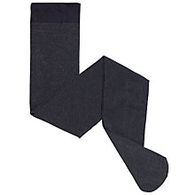 Buy John Lewis Girl Glitter Tights, Navy Online at johnlewis.com