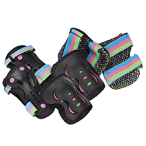 Buy Rio Roller Disco Pad Set, Black/Multi Online at johnlewis.com