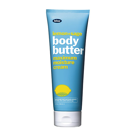 Buy Bliss Lemon And Sage Body Butter, 200ml Online at johnlewis.com