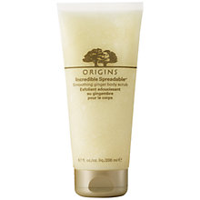 Buy Origins Incredible Spreadable™ Smoothing Ginger Scrub, 200ml Online at johnlewis.com