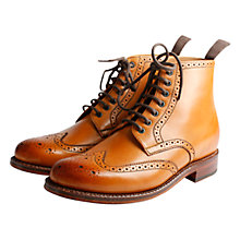 Buy Grenson Sharp Brogue Derby Boots Online at johnlewis.com