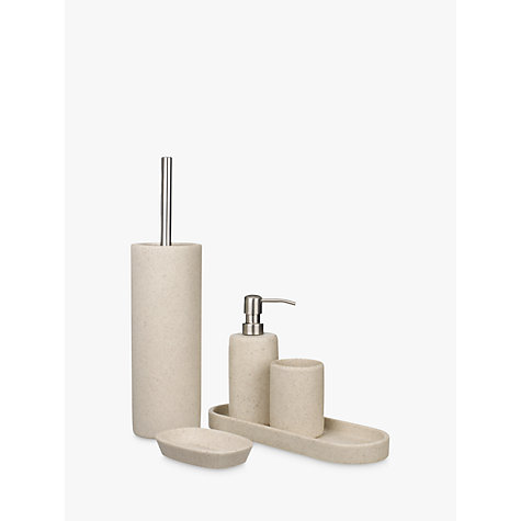buy john lewis dune electric toothbrush holder sandstone