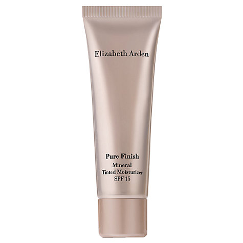 Buy Elizabeth Arden Pure Finish Mineral Tinted Moisturiser SPF15, 50ml Online at johnlewis.com
