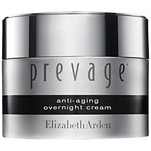 Buy Elizabeth Arden Prevage® Anti-Aging Overnight Cream, 50ml Online at johnlewis.com