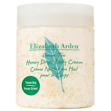 Buy Elizabeth Arden Green Tea Honey Drops Body Cream, 250ml Online at johnlewis.com