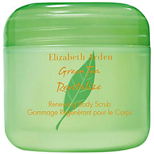 Buy Elizabeth Arden Tea Revitalise Renewing Body Scrub, 200ml Online at johnlewis.com