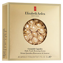 Buy Elizabeth Arden Ceramide Capsules Daily Youth Restoring Serum Refill (45) Online at johnlewis.com