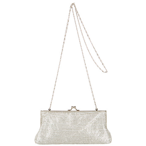 Buy John Lewis 100's & 1000's Beaded Frame Clutch Bag Online at johnlewis.com