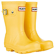 Buy Hunter Kids Original Wellington Boots Online at johnlewis.com