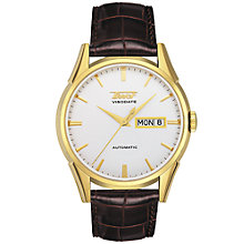 Buy Tissot T0194301603100 Visodate Men's Strap Watch Online at johnlewis.com