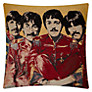 Andrew Martin Beatles Cushion, Yellow