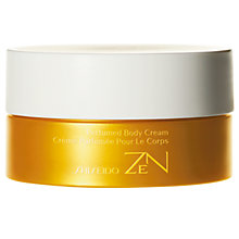 Buy Shiseido Zen Perfumed Body Cream, 200ml Online at johnlewis.com