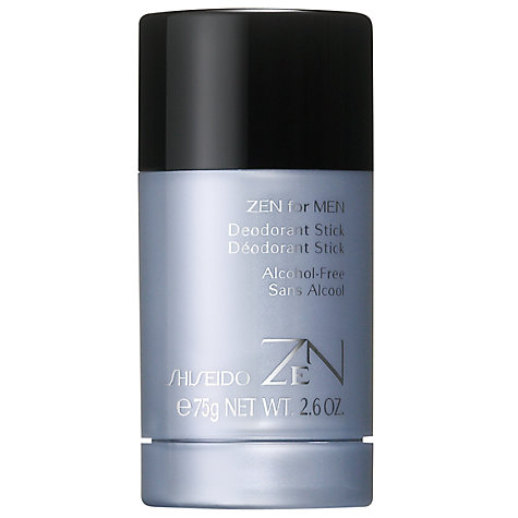 Buy Shiseido Zen For Men Deodorant Stick, 75g Online at johnlewis.com