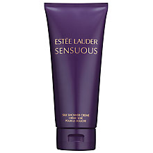 Buy Estée Lauder Sensuous Silk Shower Crème, 200ml Online at johnlewis.com