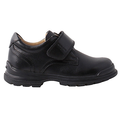 Buy Geox William School Shoes, Black Online at johnlewis.com