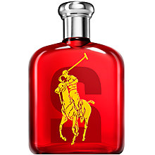 Buy Ralph Lauren Big Pony RL Red No. 2 Eau de Toilette, 75ml Online at johnlewis.com