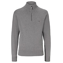 Buy Gant 1/2 Zip Neck Cotton Jumper Online at johnlewis.com