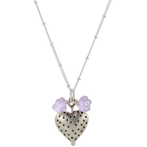 Buy Martick Dotty Heart Blossom Pendant Necklace Online at johnlewis.com