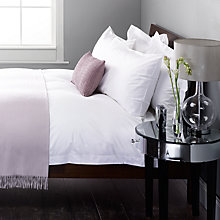 Buy John Lewis Sumptuous Pima Cotton Satin Stitch Bedding Online at johnlewis.com
