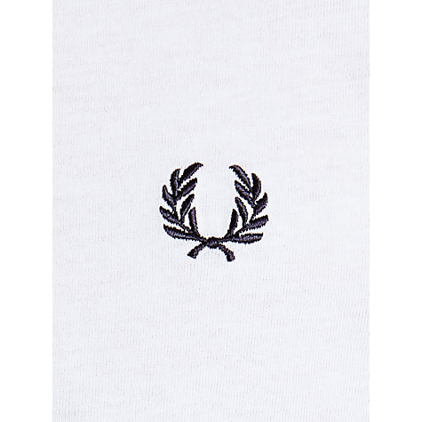 Buy Fred Perry Basic Crew Neck T-Shirt Online at johnlewis.com