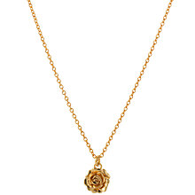 Buy Alex Monroe Rosa Necklace Online at johnlewis.com