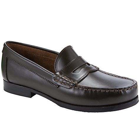 Buy Start-rite Penny Leather Loafer Shoes Online at johnlewis.com