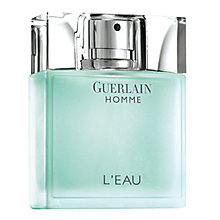 Buy Guerlain Homme L'Eau Eau de Toilette, 80ml Online at johnlewis.com