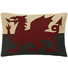 Buy John Lewis Hampton Welsh Dragon Cushion Online at johnlewis.com