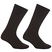 Buy John Lewis Thermal Wool Socks, Pack of 2, One Size Online at johnlewis.com